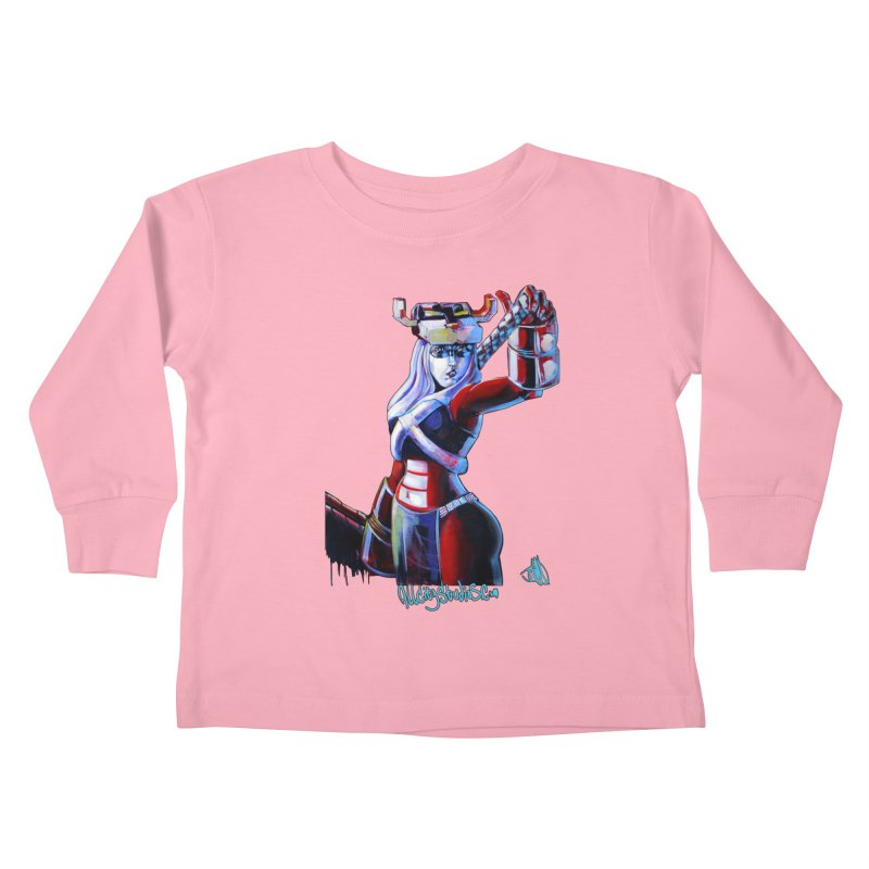 Marauder 1 Kids Toddler Longsleeve T-Shirt by All City Emporium's Artist Shop