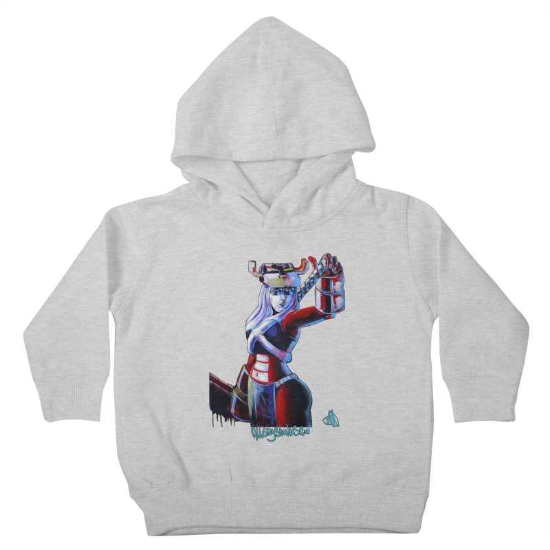 Marauder 1 Kids Toddler Pullover Hoody by All City Emporium's Artist Shop