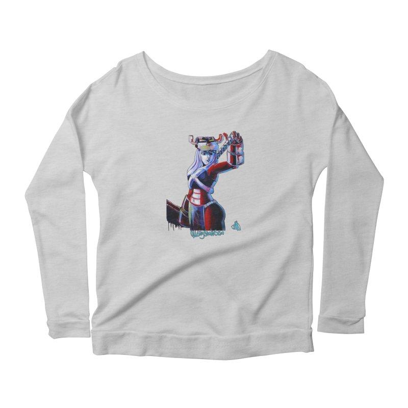 Marauder 1 Women's Scoop Neck Longsleeve T-Shirt by allcityemporium's Artist Shop