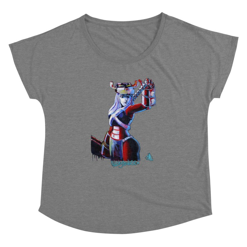 Marauder 1 Women's Scoop Neck by All City Emporium's Artist Shop