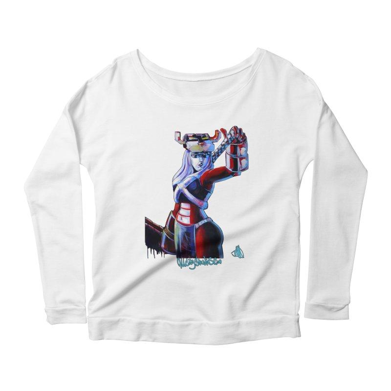 Marauder 1 Women's Scoop Neck Longsleeve T-Shirt by All City Emporium's Artist Shop
