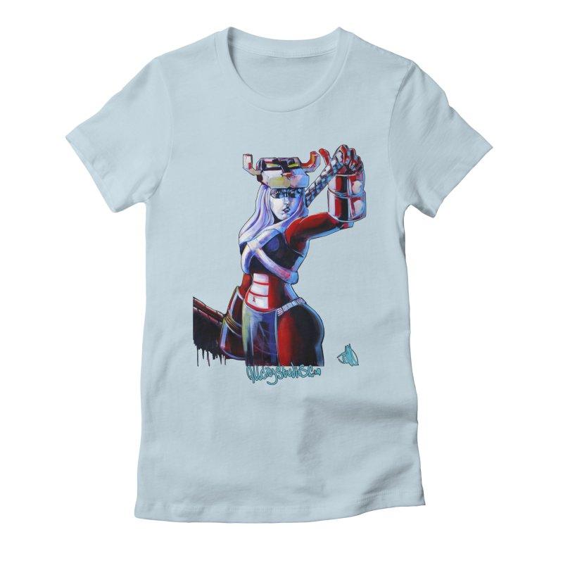 Marauder 1 Women's Fitted T-Shirt by All City Emporium's Artist Shop