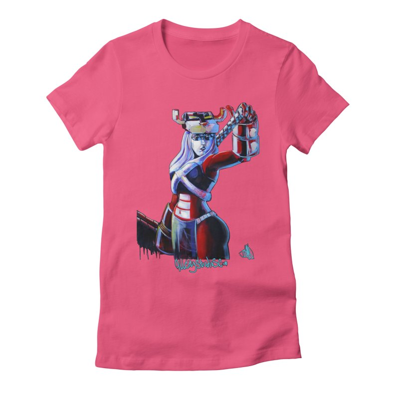 Marauder 1 Women's Fitted T-Shirt by All City Emporium's Artist Shop