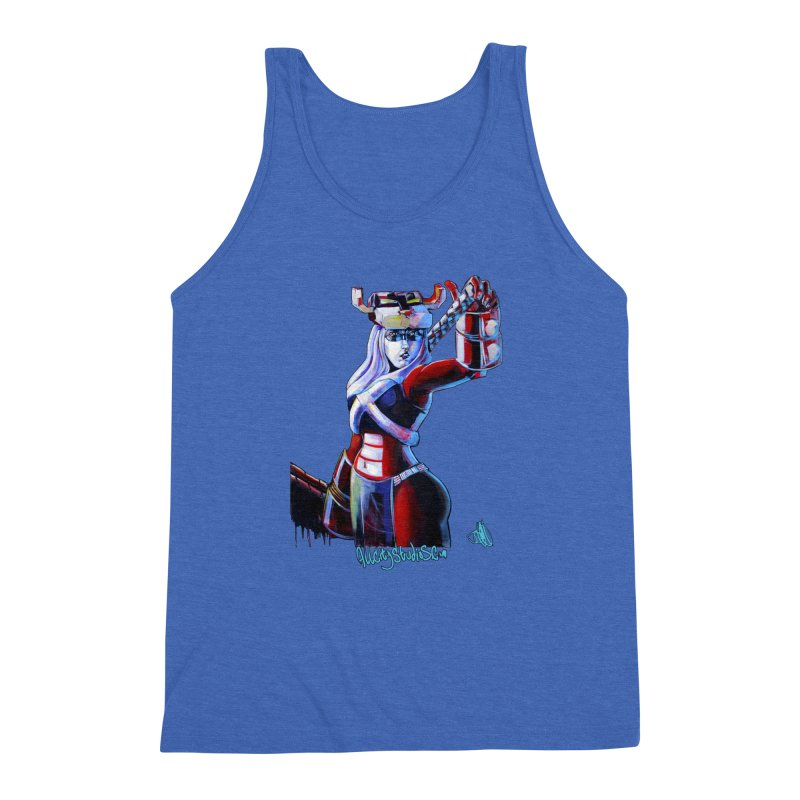 Marauder 1 Men's Triblend Tank by All City Emporium's Artist Shop