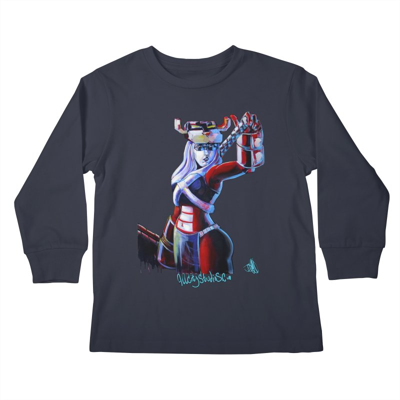 Marauder 1 Kids Longsleeve T-Shirt by All City Emporium's Artist Shop
