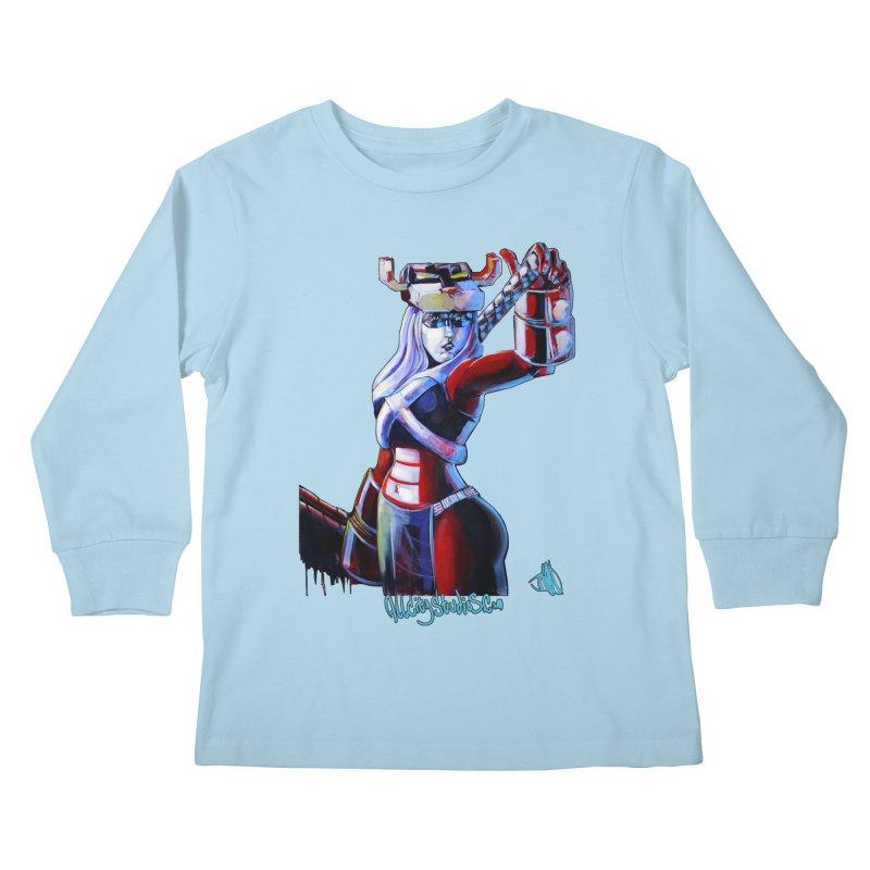 Marauder 1 Kids Longsleeve T-Shirt by All City Emporium's Artist Shop