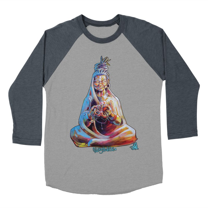 4 moms Women's Baseball Triblend Longsleeve T-Shirt by All City Emporium's Artist Shop