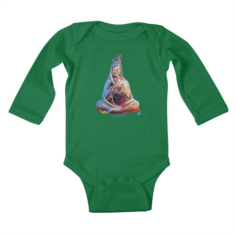 4 moms Kids Baby Longsleeve Bodysuit by All City Emporium's Artist Shop