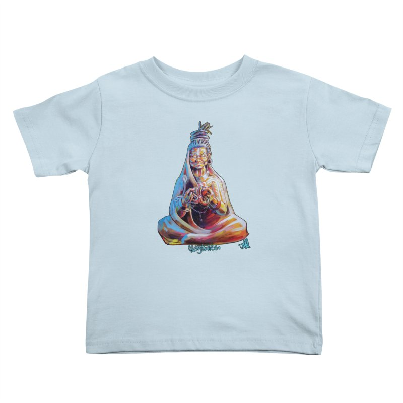 4 moms Kids Toddler T-Shirt by All City Emporium's Artist Shop