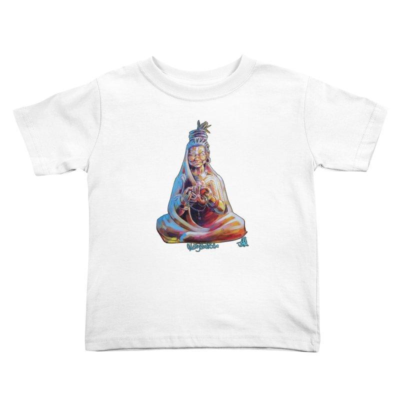 4 moms Kids Toddler T-Shirt by All City Emporium's Artist Shop