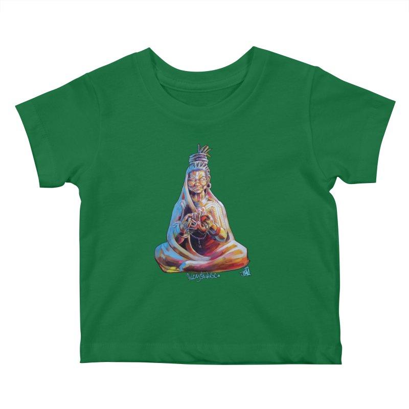4 moms Kids Baby T-Shirt by All City Emporium's Artist Shop