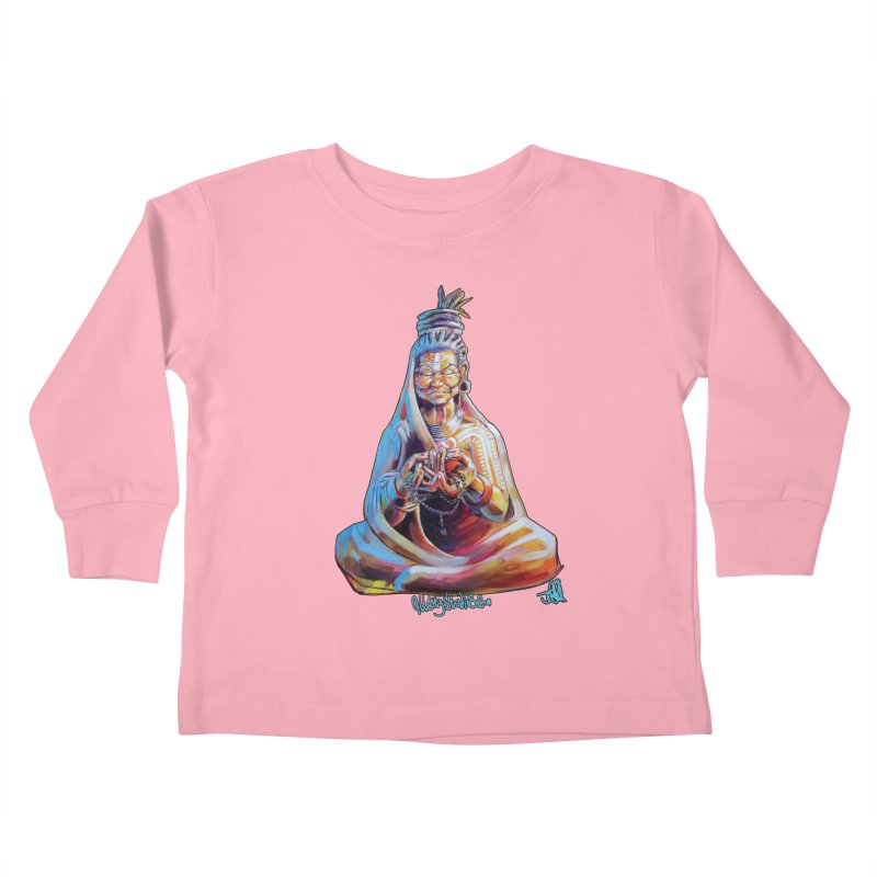 4 moms Kids Toddler Longsleeve T-Shirt by All City Emporium's Artist Shop
