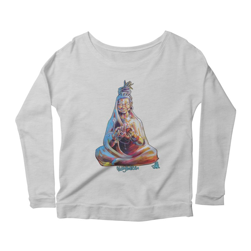 4 moms Women's Scoop Neck Longsleeve T-Shirt by All City Emporium's Artist Shop