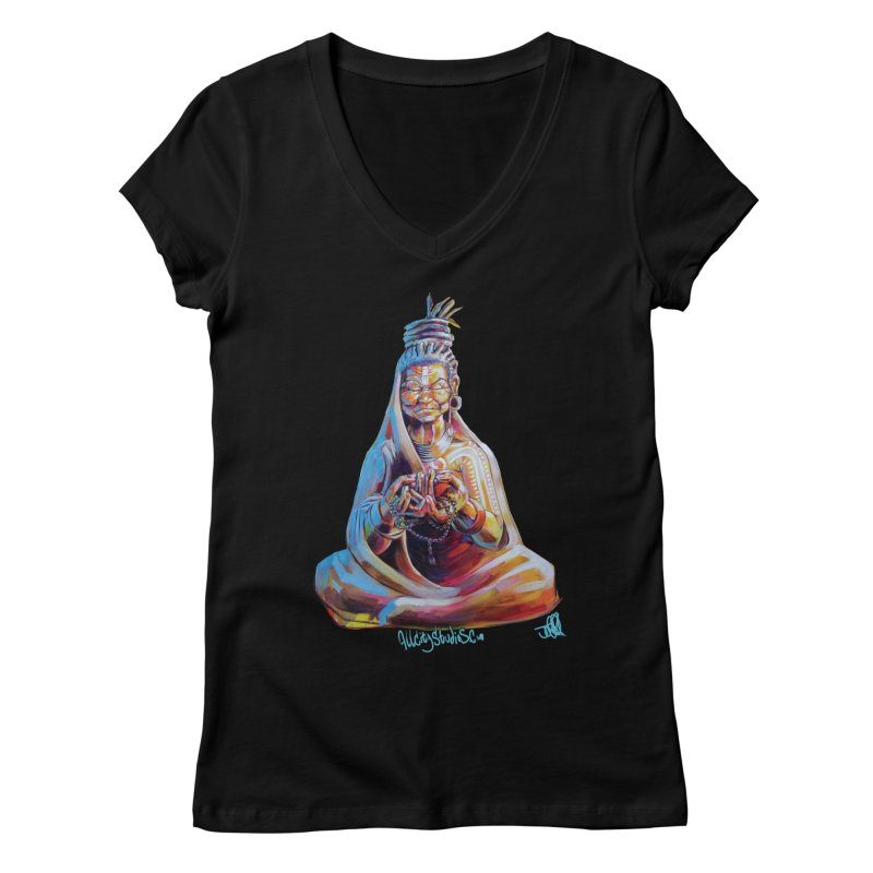 4 moms Women's V-Neck by All City Emporium's Artist Shop