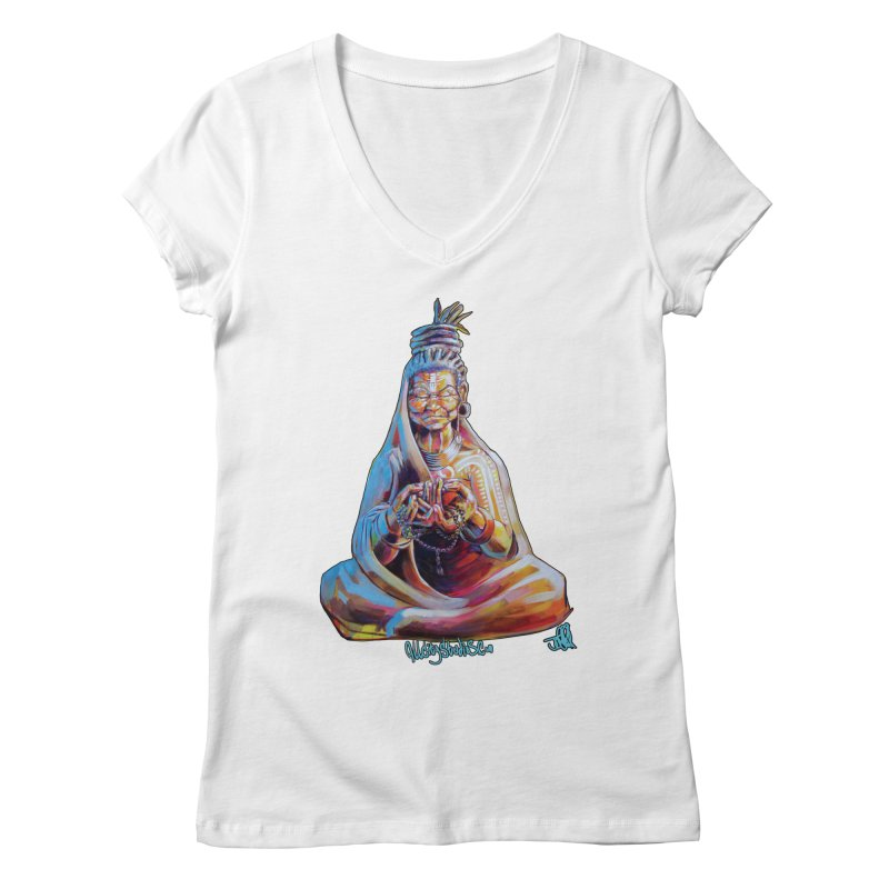 4 moms Women's Regular V-Neck by All City Emporium's Artist Shop