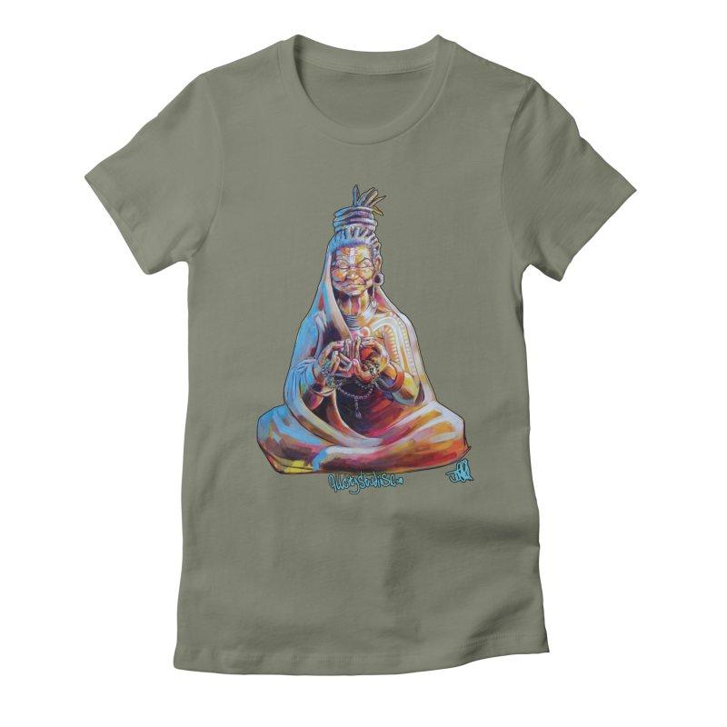 4 moms Women's Fitted T-Shirt by allcityemporium's Artist Shop