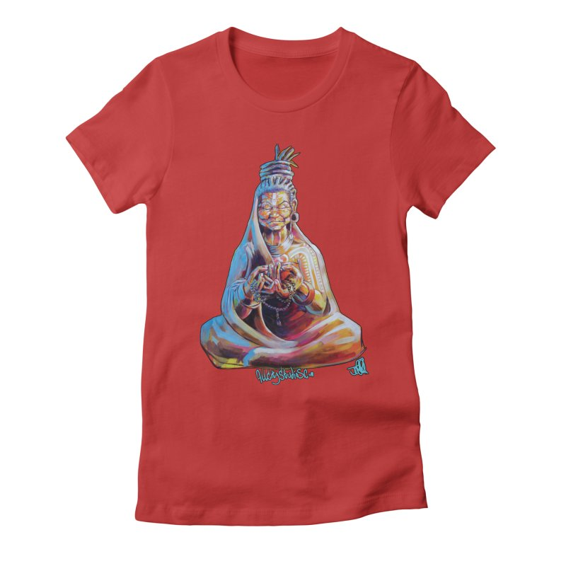 4 moms Women's Fitted T-Shirt by All City Emporium's Artist Shop