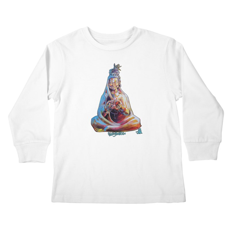 4 moms Kids Longsleeve T-Shirt by All City Emporium's Artist Shop
