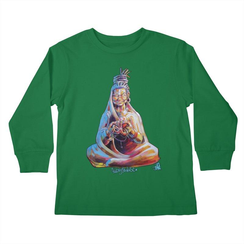 4 moms Kids Longsleeve T-Shirt by All City Emporium's Artist Shop