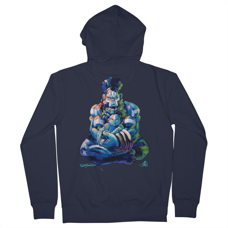 Daddy, Don'tcha know things go in cycles? Men's French Terry Zip-Up Hoody by All City Emporium's Artist Shop