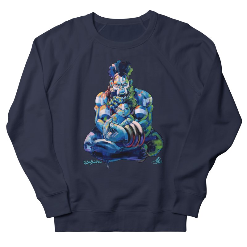 Daddy, Don'tcha know things go in cycles? Men's French Terry Sweatshirt by All City Emporium's Artist Shop