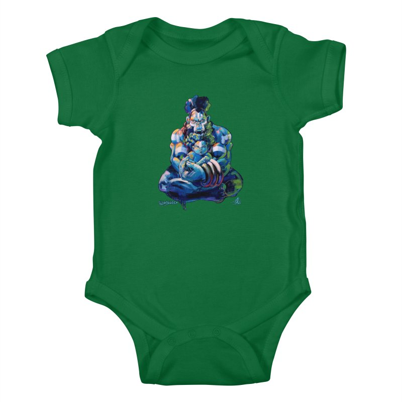 Daddy, Don'tcha know things go in cycles? Kids Baby Bodysuit by All City Emporium's Artist Shop