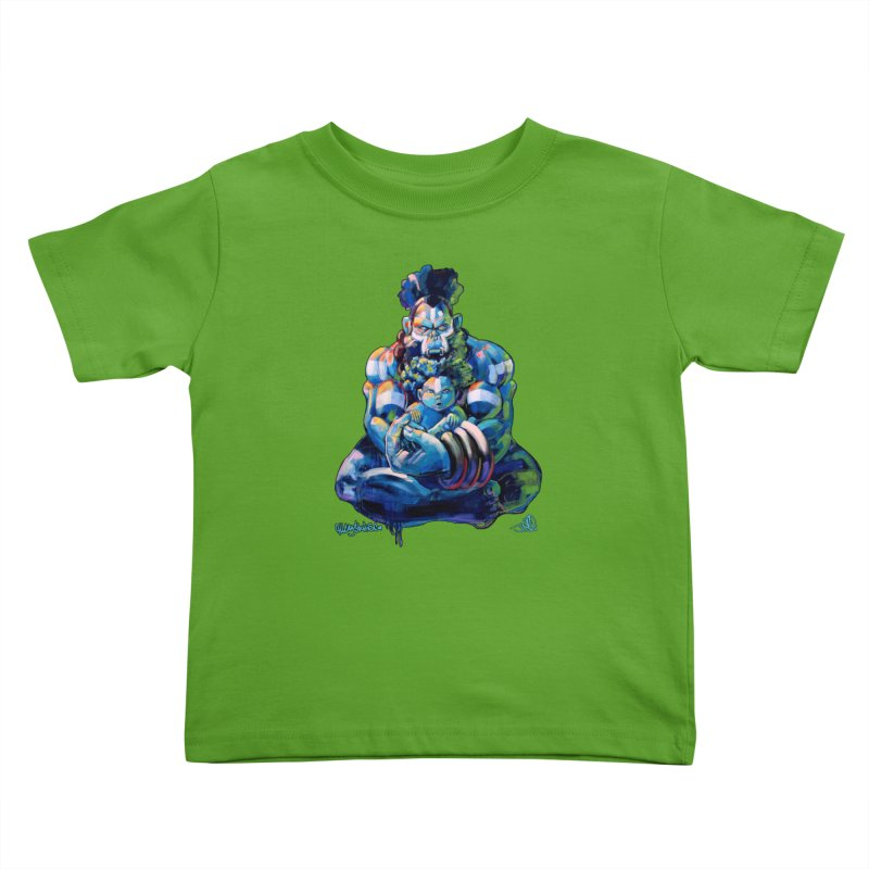 Daddy, Don'tcha know things go in cycles? Kids Toddler T-Shirt by All City Emporium's Artist Shop