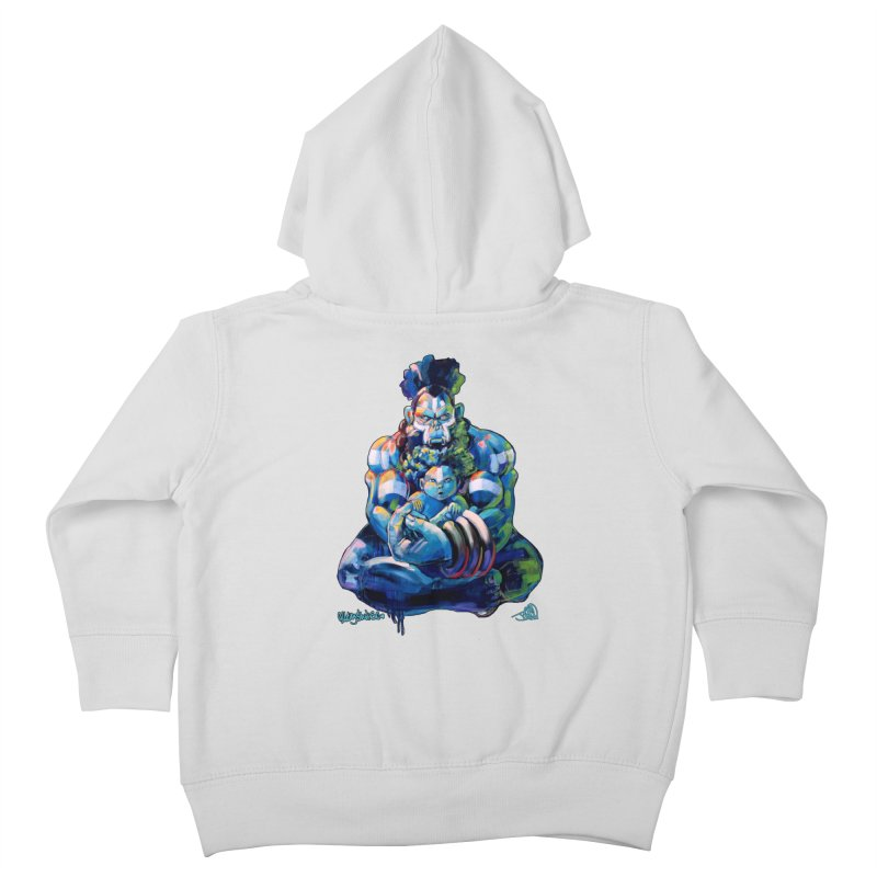 Daddy, Don'tcha know things go in cycles? Kids Toddler Zip-Up Hoody by All City Emporium's Artist Shop