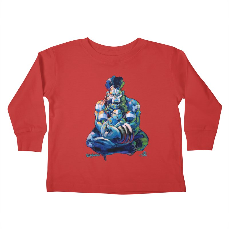 Daddy, Don'tcha know things go in cycles? Kids Toddler Longsleeve T-Shirt by allcityemporium's Artist Shop