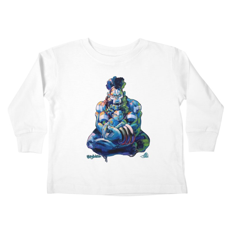 Daddy, Don'tcha know things go in cycles? Kids Toddler Longsleeve T-Shirt by All City Emporium's Artist Shop