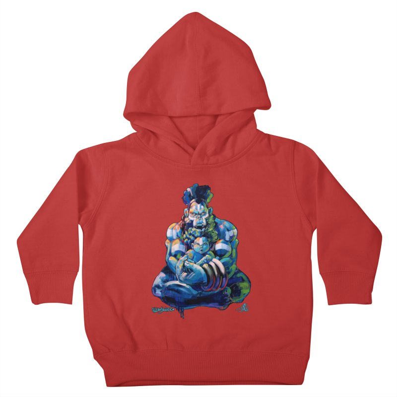 Daddy, Don'tcha know things go in cycles? Kids Toddler Pullover Hoody by All City Emporium's Artist Shop