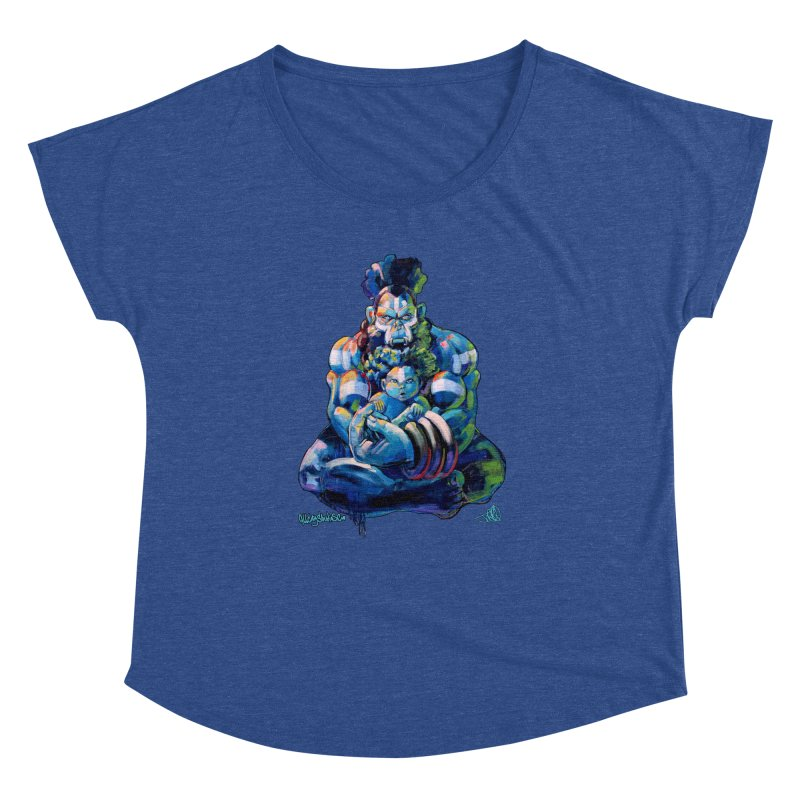 Daddy, Don'tcha know things go in cycles? Women's Dolman Scoop Neck by All City Emporium's Artist Shop
