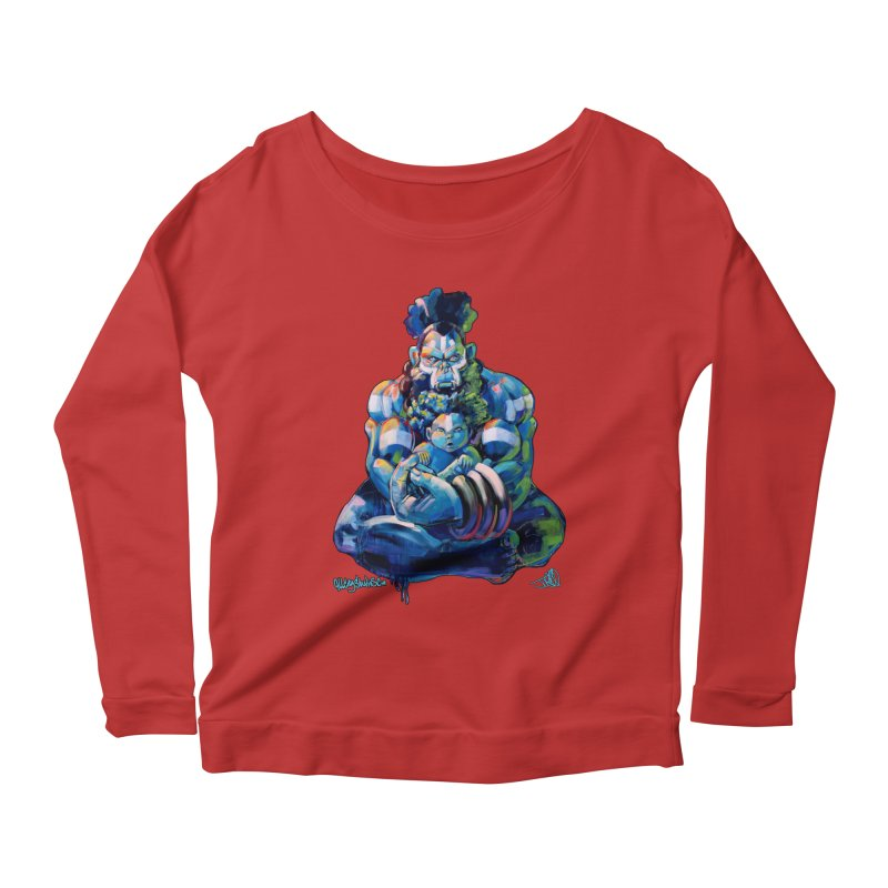 Daddy, Don'tcha know things go in cycles? Women's Scoop Neck Longsleeve T-Shirt by allcityemporium's Artist Shop