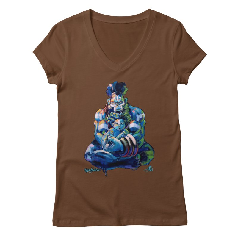 Daddy, Don'tcha know things go in cycles? Women's Regular V-Neck by All City Emporium's Artist Shop