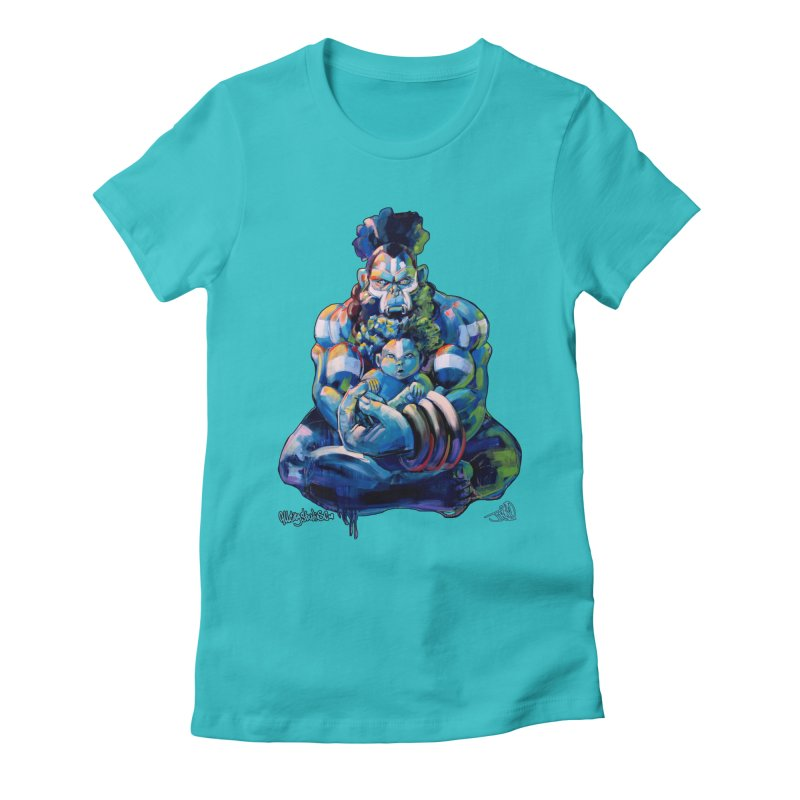 Daddy, Don'tcha know things go in cycles? Women's Fitted T-Shirt by All City Emporium's Artist Shop