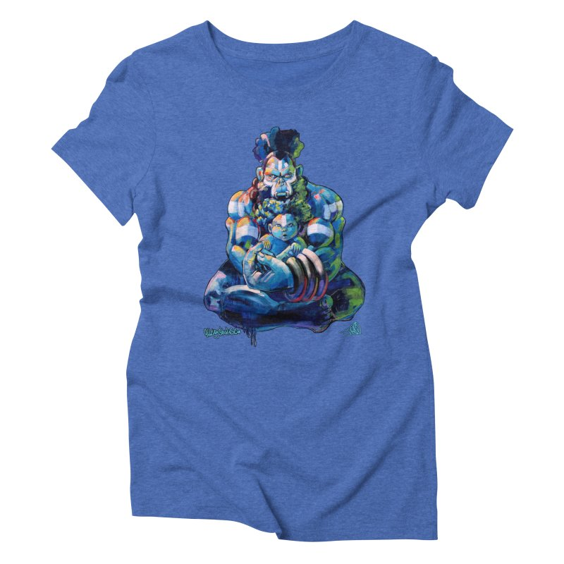 Daddy, Don'tcha know things go in cycles? Women's Triblend T-Shirt by All City Emporium's Artist Shop