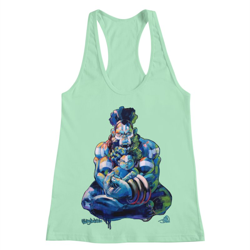 Daddy, Don'tcha know things go in cycles? Women's Racerback Tank by All City Emporium's Artist Shop
