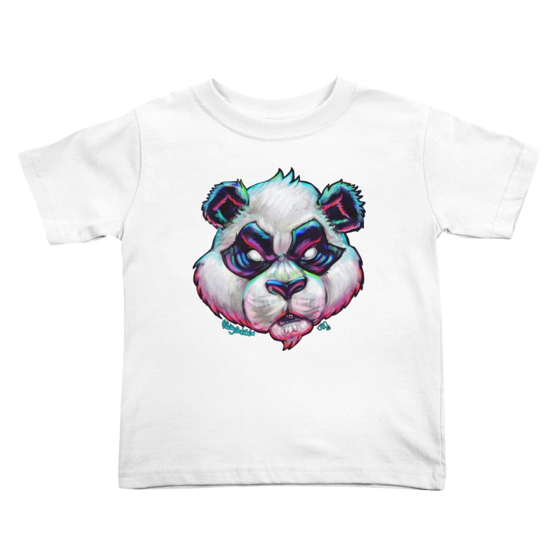Portrait of  the artist Kids Toddler T-Shirt by All City Emporium's Artist Shop
