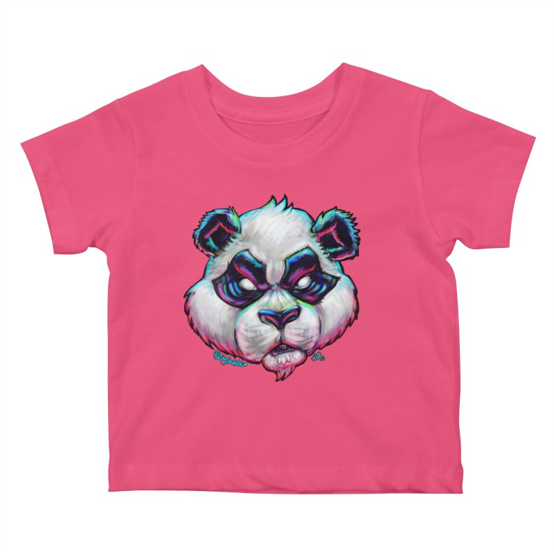 Portrait of  the artist Kids Baby T-Shirt by All City Emporium's Artist Shop