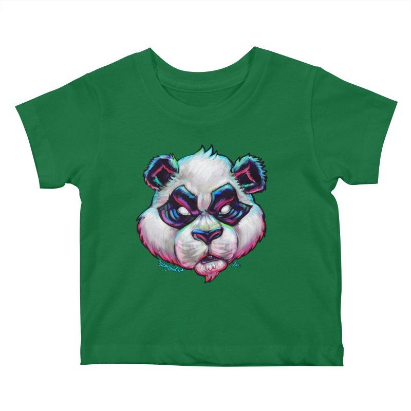 Portrait of  the artist Kids Baby T-Shirt by All City Emporium's Artist Shop