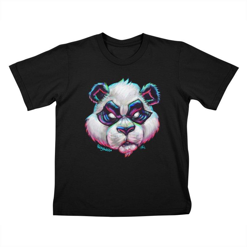 Portrait of  the artist Kids T-Shirt by All City Emporium's Artist Shop