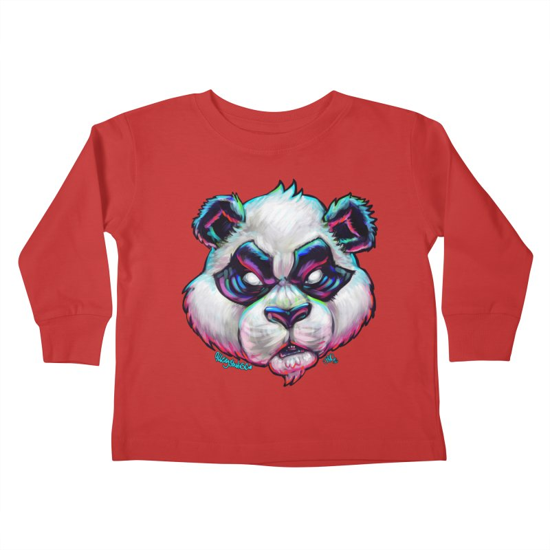 Portrait of  the artist Kids Toddler Longsleeve T-Shirt by All City Emporium's Artist Shop