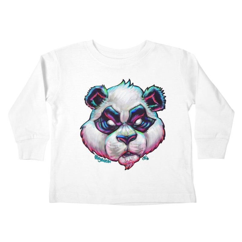 Portrait of  the artist Kids Toddler Longsleeve T-Shirt by All City Emporium's Artist Shop