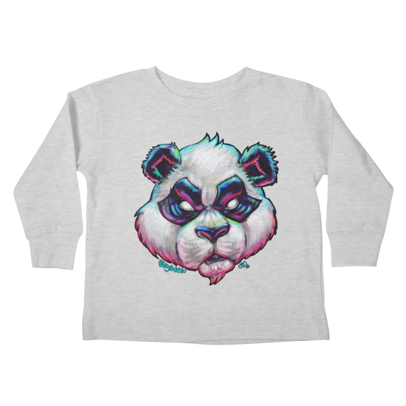 Portrait of  the artist Kids Toddler Longsleeve T-Shirt by allcityemporium's Artist Shop