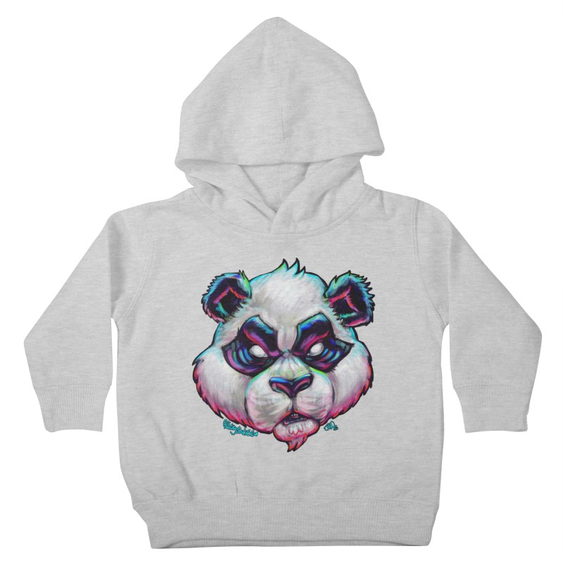 Portrait of  the artist Kids Toddler Pullover Hoody by All City Emporium's Artist Shop