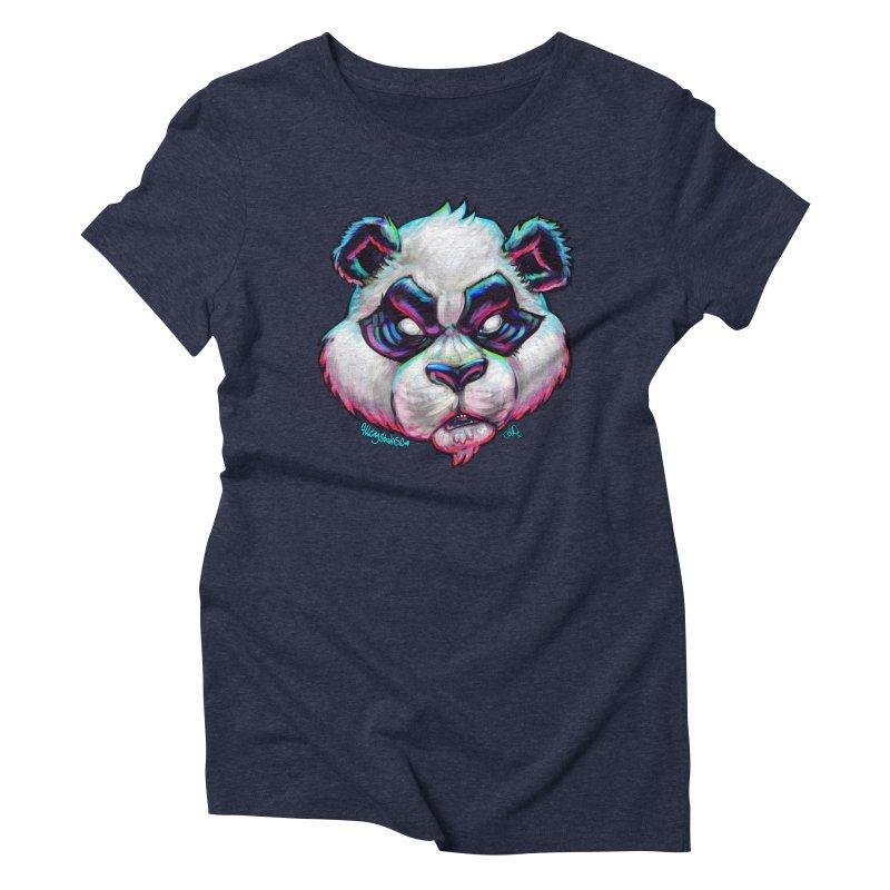 Portrait of  the artist Women's Triblend T-Shirt by All City Emporium's Artist Shop