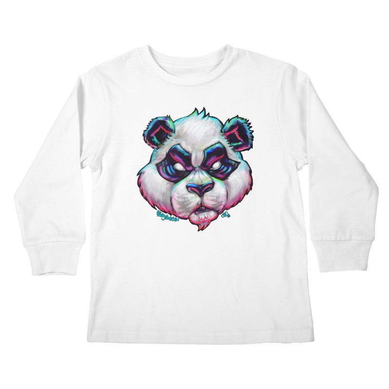 Portrait of  the artist Kids Longsleeve T-Shirt by All City Emporium's Artist Shop