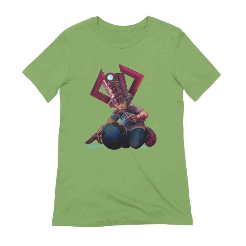 Playing with my food Women's Extra Soft T-Shirt by All City Emporium's Artist Shop