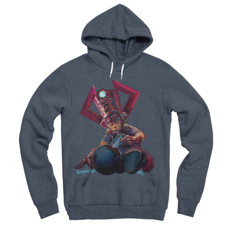 Playing with my food Women's Sponge Fleece Pullover Hoody by All City Emporium's Artist Shop