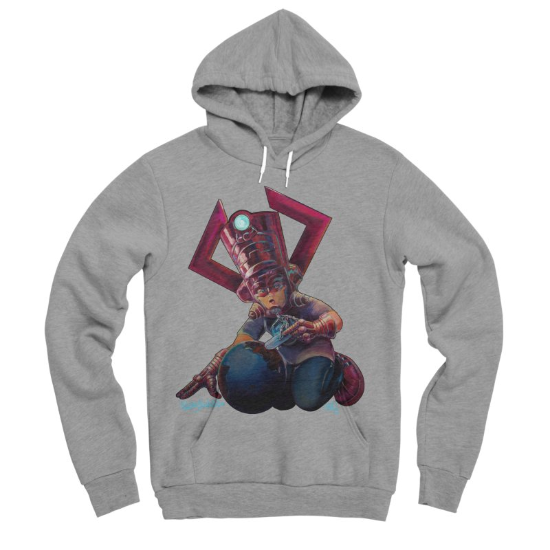Playing with my food Men's Sponge Fleece Pullover Hoody by All City Emporium's Artist Shop